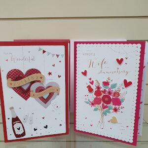 Boxed Husband / Wife Anniversary