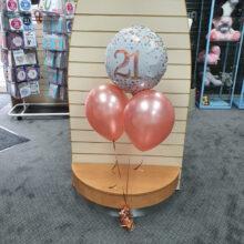 21st Birthday Celebration Balloons