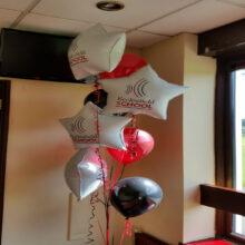 Ecclesfield School Prom alterantive balloon display